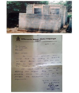(111) Toilets for gampola MMW