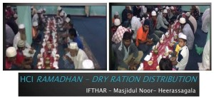 HCI Ramadhan -Dry Ration Distribution 2013-Heerasagala