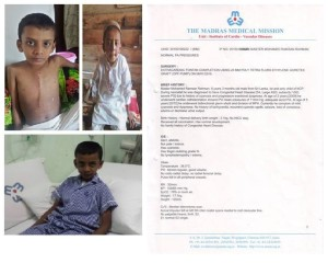 (427) 7 year old child needs help for heart surgery