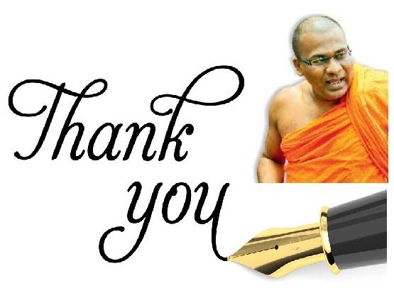 Thank you Ven. Gnanasara thero & BBS!